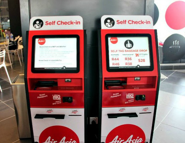 AirAsia Self Check-In Kiosk